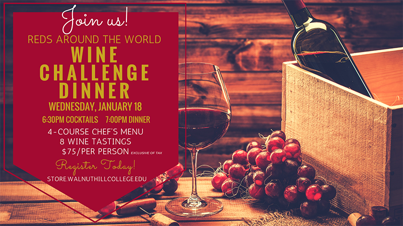 Community Education Wine Challenge Dinner 01.18.17