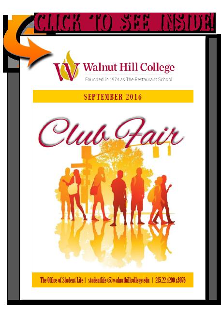 Club Fair Fall 2016 Brochure Image