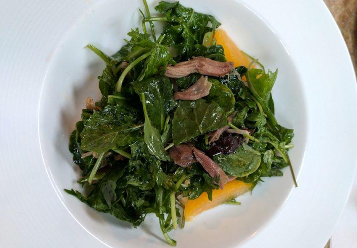 Duck Confit Salad Bon Voyage